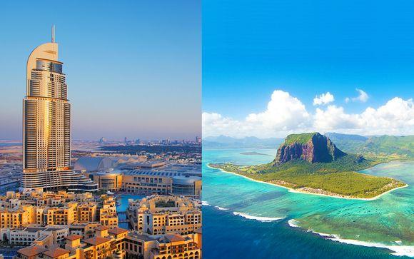 Dallo skyline di Dubai alle spiagge di Mauritius in 5*