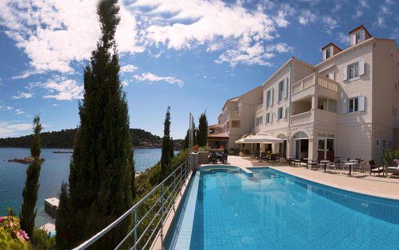 Raffinato 4* con spiaggia privata vicino a Dubrovnik