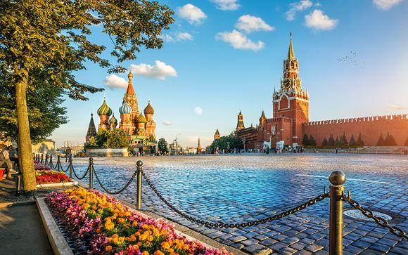 Mosca e San Pietroburgo in 4*