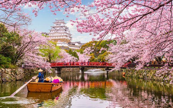 Tour essenziale del Giappone con noleggio auto incluso