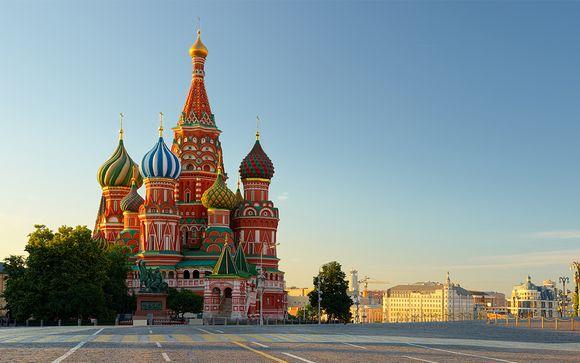 Russia a 4* o 5* alla scoperta di Mosca e San Pietroburgo
