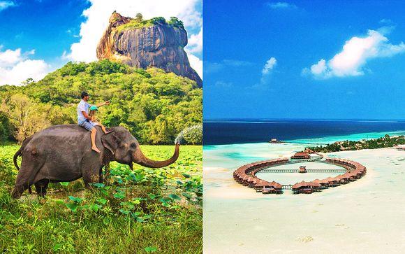 Mini tour Sri Lanka & Olhuveli Beach Resort & SPA 5*