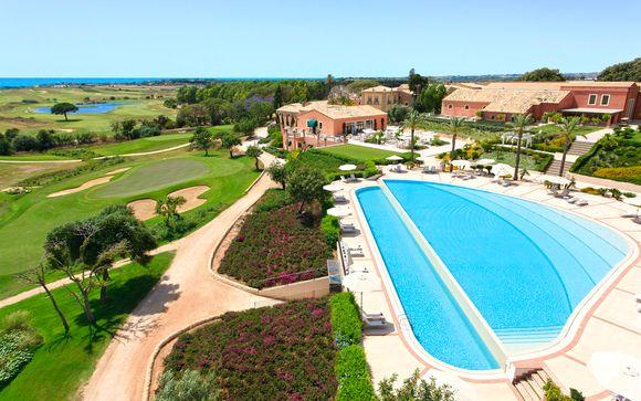 Donnafugata, lusso in 5* con golf club e spiaggia privata