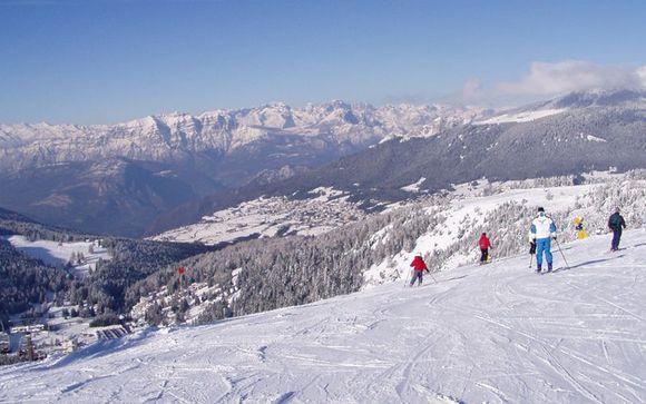Comprensorio sciistico Alpe Cimbra Folgaria Ski