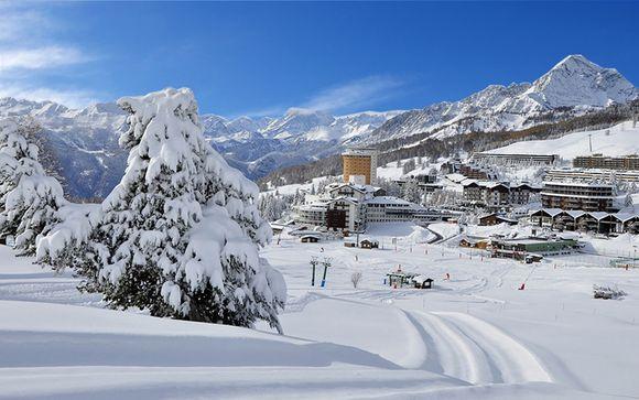 Neve e natura 4* in mezza pensione a Sestriere