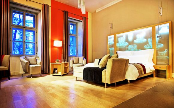 Cultura e benessere in design hotel 5* in centro