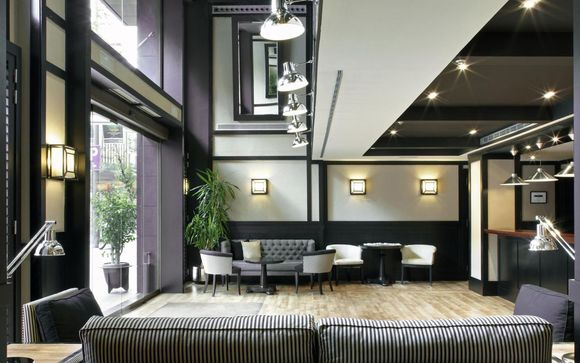 Elegante boutique hotel con terrazza panoramica in centro