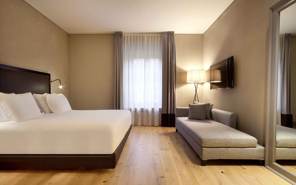 L'Hotel NH Collection Torino Piazza Carlina 4*