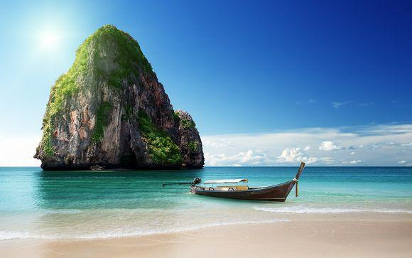 Le spiagge di Krabi e tutta la vivacità di Bangkok in 4*