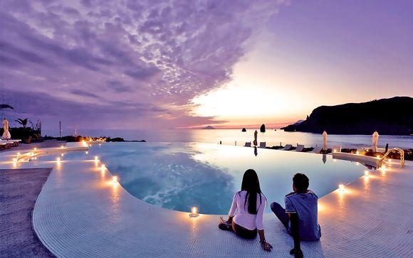 Vulcano, lusso e tramonti mozzafiato in Resort & spa 5*