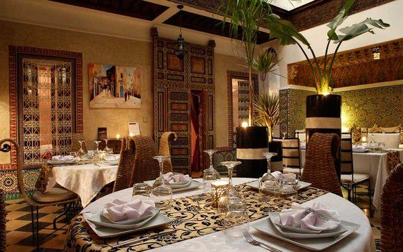Colori e raffinatezza orientali in un Riad a Marrakech