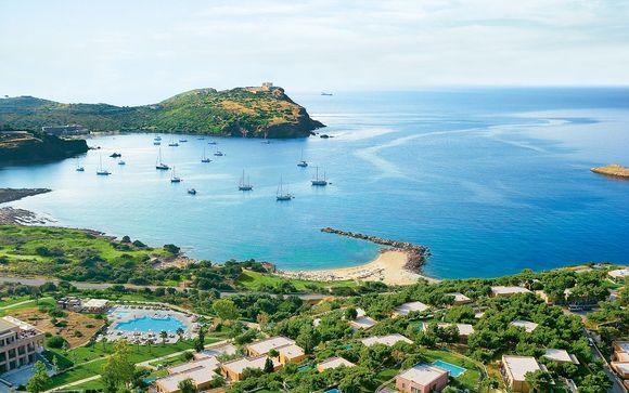 Fascino ellenico e benessere mediterraneo in esclusivo 5*