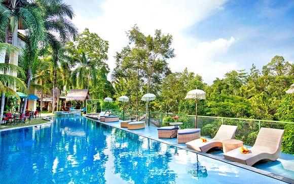 The Mansion Baliwood Resort Hotel and Spa 5* + Prama Sanur Beach Bali Hotel 5*