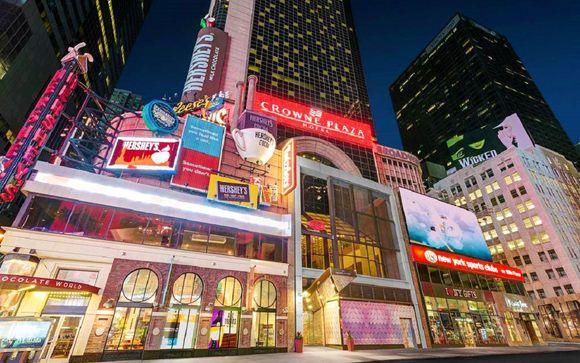 La magia di New York in 4* nel cuore di Times Square