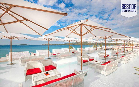 Hotel con spiaggia privata ideale per tutta la famiglia