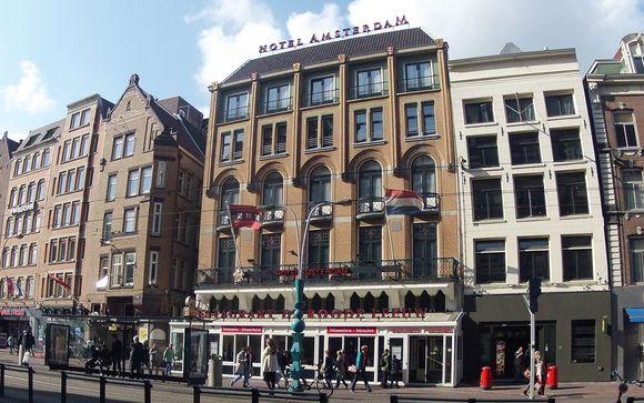 Hotel Amsterdam de Roode Leeuw 4* Voyage Privé : fino a -70%