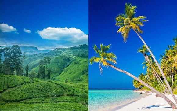 Tour Sri Lanka e soggiorno mare alle Maldive Adaaran Select Hudhuranfushi 4*