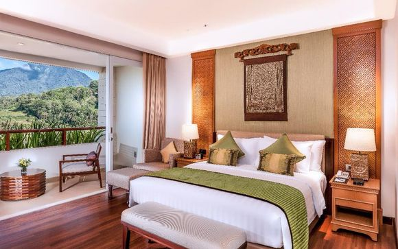 Bedugul - Royal Tulip Saranam Resort & Spa 5*
