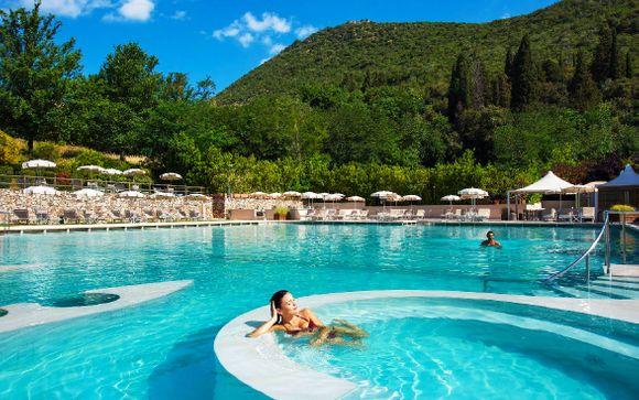 Resort con spa termale in villa ottocentesca
