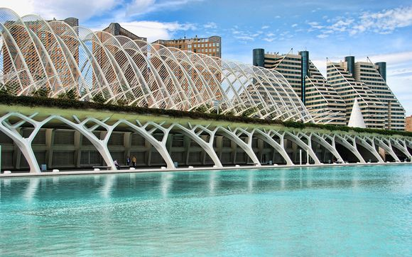 Design futuristico a 4* nella capitale dell'arte spagnola