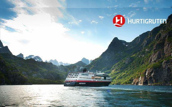 La leggendaria rotta dei Fiordi a bordo di Hurtigruten