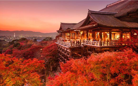 Tour in libertà del Giappone di 14 o 17 notti