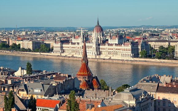 L'itinerario da Vienna a Bucarest pèr la partenza del 26/07