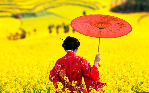 Tour integrale del Giappone di 12 o 14 notti