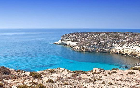 Appartamenti a Lampedusa con escursione in barca