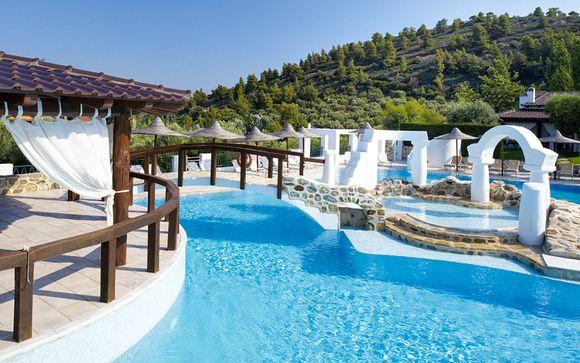 Atmosfere greche in 5* sulla penisola di Sithonia