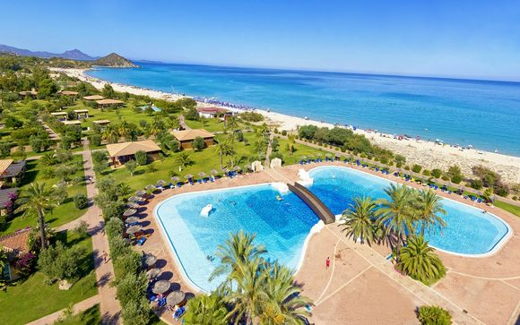 Splendido resort tra mare cristallino e verdi giardini