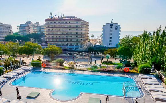 Moderno hotel 4* fronte mare con piscina e spa