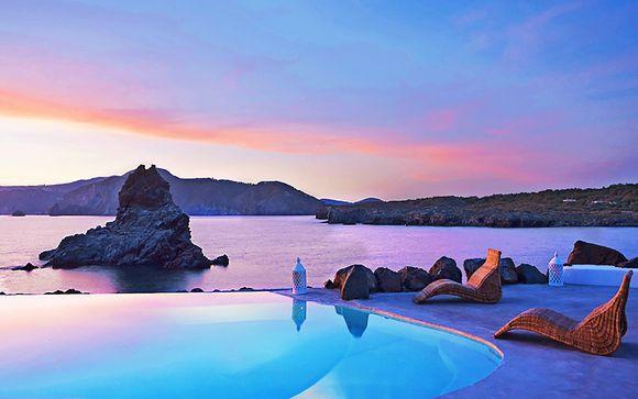 Panorama da sogno in resort 4* direttamente sulla spiaggia