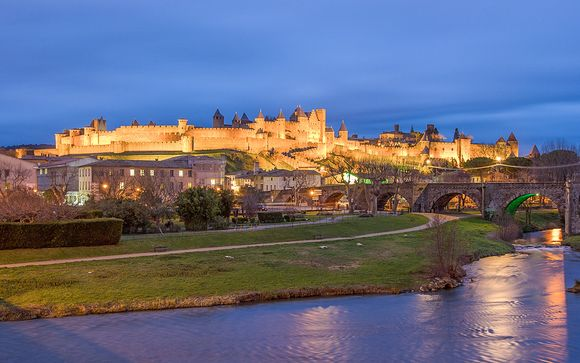 Fuga a 4* con vista sulla cittadella medievale
