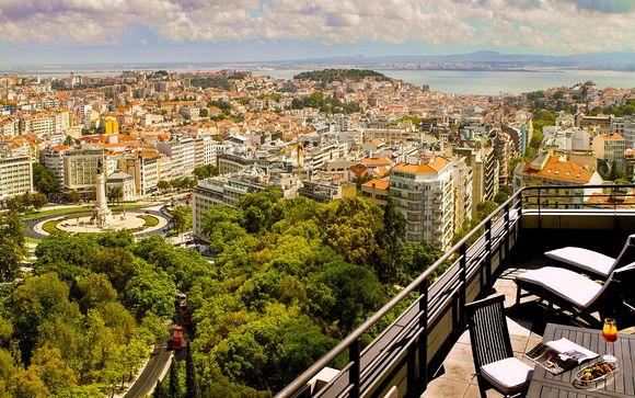 Esclusivo e moderno 5* con vista sulla città
