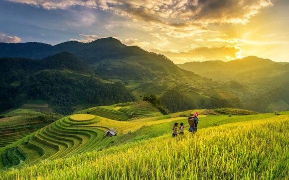 Il nord del Vietnam in tour privato con possibile soggiorno a Bangkok