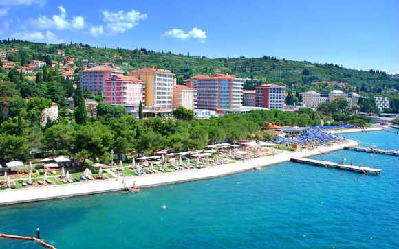 Portoroz - Il Grand Hotel Portoroz 4*S