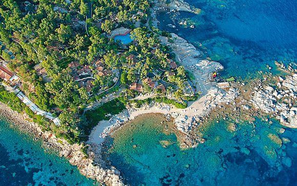 Cottage a 4* in posizione esclusiva sul mare