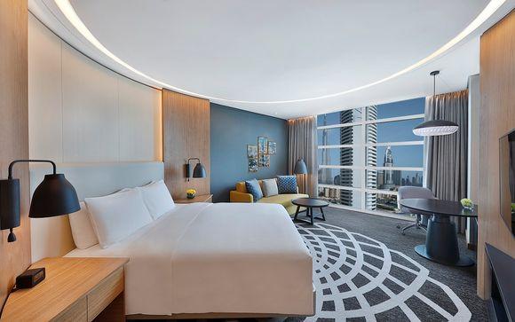 Dubai - Il Doubletree by Hilton Business Bay 4*