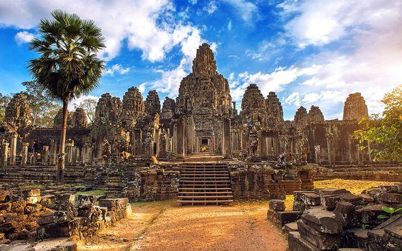 L'itinerario di 14 notti con estensione in Cambogia