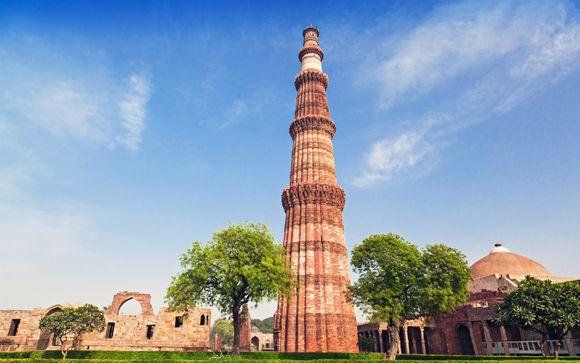 Itinerario da Milano - India del Nord