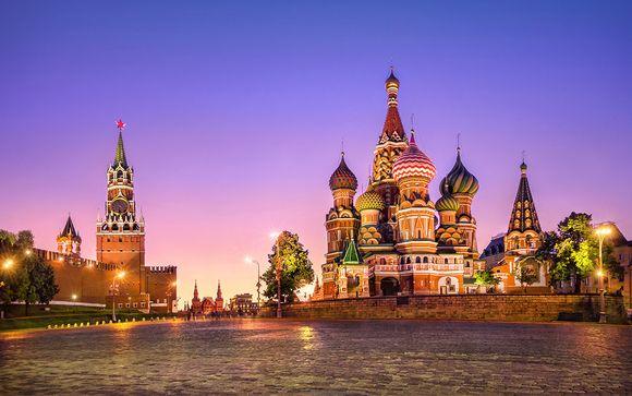Itinerario con 14 notti da Mosca a Pechino