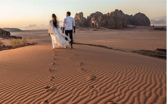 Itinerario del tour Giordania, Wadi Rum e Mar Morto