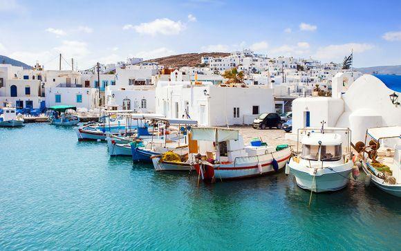 Itinerario 13 - Santorini, Paros, Mykonos, Creta