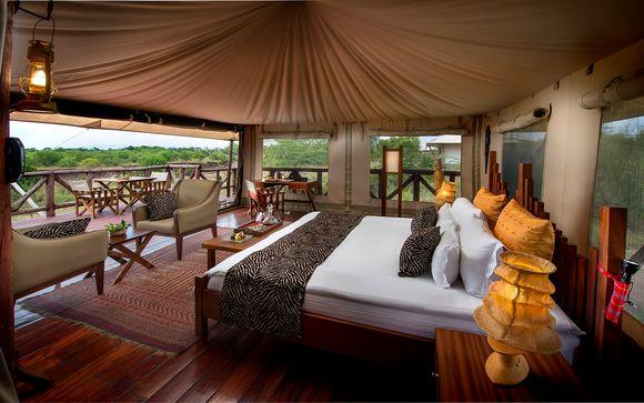 Masai Mara - Neptune Mara Rianta Luxury Camp 5*