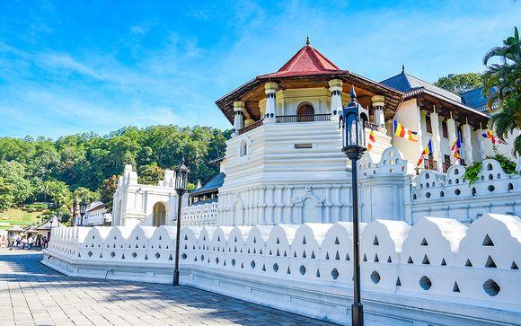 L'itinerario del mini tour in Sri Lanka
