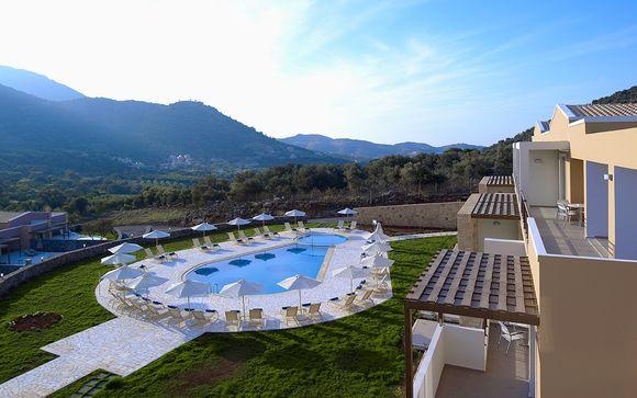 Relax e benessere a 5* tra gli uliveti di Creta
