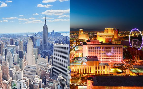 Hampton Inn Manhattan Times Square Central + Aria Resort & Casinò 5* Las Vegas