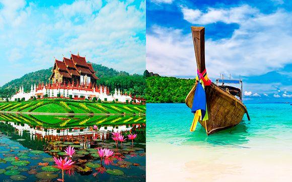 Siripanna Villa Resort & Spa 4* + Century Park Bangkok 4* + Aonang Villa Resort 4*