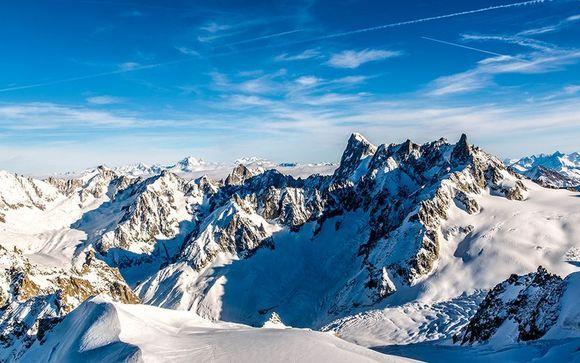 Il comprensorio sciistico Chamonix Mont Blanc